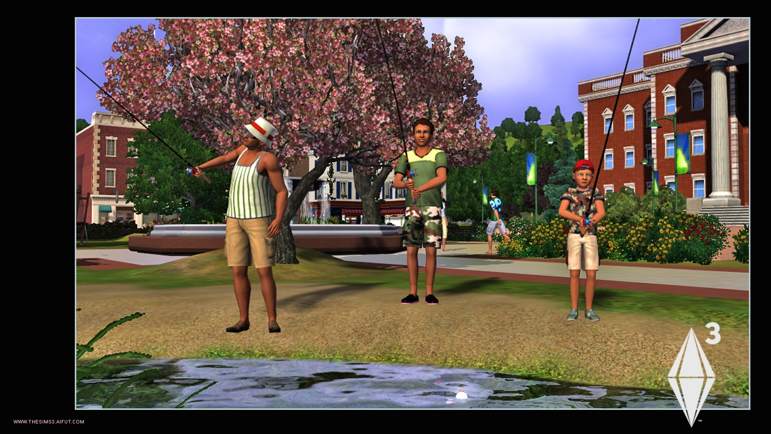 Picture of the game Sims 3